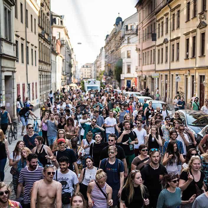 Tolerade Dresden | Parade und Afterpartys